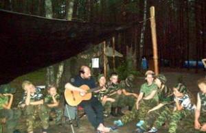 Бардовская военная песня