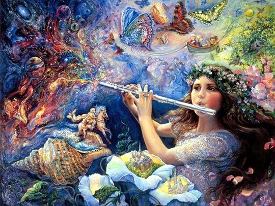 Красивая волшебная музыка