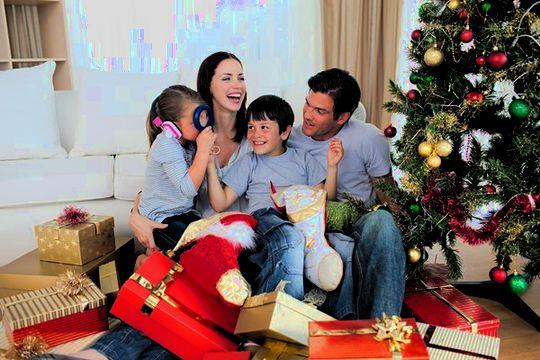 Семейный праздник Новый год