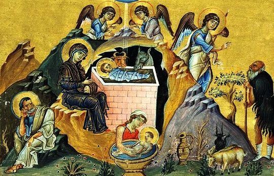 Рождество Христово православное.