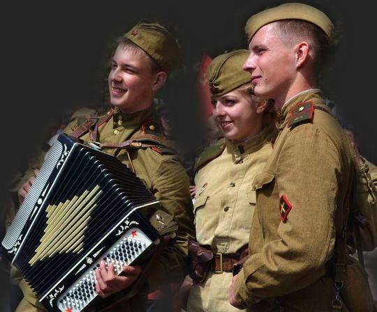 Военные песни, минусовки