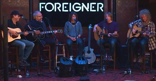 Группа Foreigner