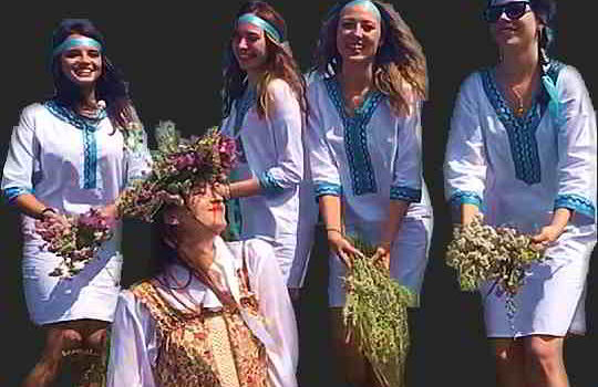Группа Русский девичник