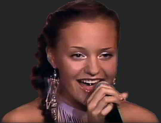 Певица Ангина